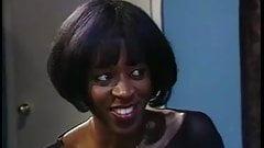 Ebony Star Rachel St. Marie in Crimson Thighs