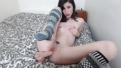 Cute angel Ash with trimmed pussy looking for the daddy