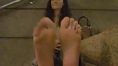 Sexy feet big soles I love it