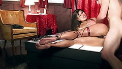 Sexy asian stripper