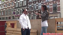 Real indian amsterdam whore doggystyle nailed