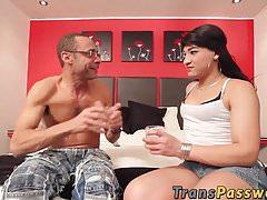 Valentina Perez latina tranny ass fucking and pounding