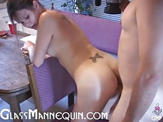 Fucking The Neighbor's Hot Teenage Daughter In My Kitchen