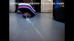 Shoejob I came under her flip flop