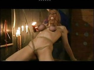 Blond slave gets a harsh punishment
