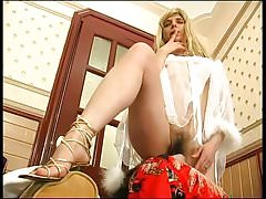 HOT! Russian Mature vs. Young Cock Video 02