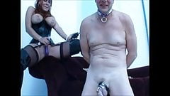 electric chastity for this stooge
