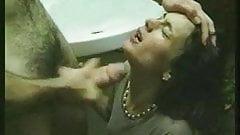 2 Pretty French sluts in porn cinema
