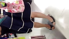 Under skirts asian :52