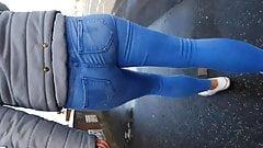 Blonde Jeans Ass sunlight