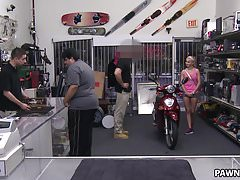 Sadie Leigh wants to sell a rented scooter - XXX Pawn
