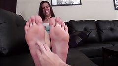 Tickling Big Feet