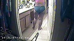 Ebony babe: Nice ass