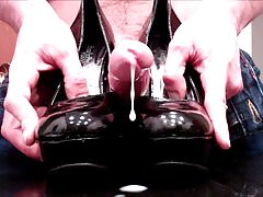 Patent-Leather Pumps Fucked
