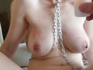 chains,wax and cunt pins