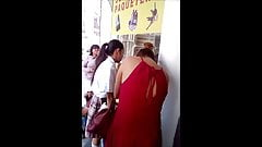 College in the streets of Mexico City, upskirt, sexy teen.