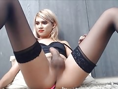 Ahl Shemale Webcam Show 2018-02-21