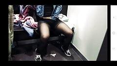 Girl Mastrubates in Changing Room