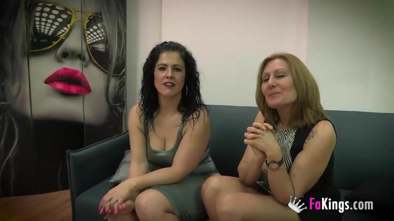 Nuria Webcam Porn nuria and montse's threesome with julian's cock