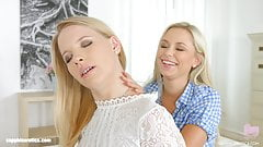 Kiara Night and Lola Myluv in Release the tension lesbian