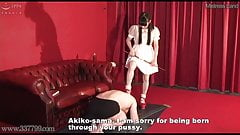 Japanese Femdom Sadistic Rich Girl and Perverted Butler