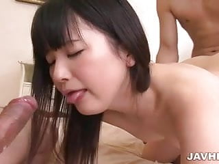 Pussy ramming for Tsuna Kimura as she gives head
