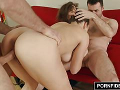 PORNFIDELITY Lily Love's First Threesome