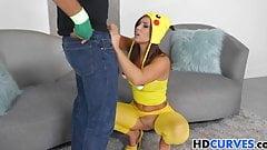 Stunning big ass beauty Kelsi Monroe gets poked