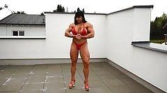 Fbb Jana posing red top