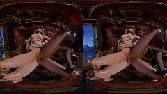 Taming The Demon Hunter (3rd person) - 3d VR porn movies