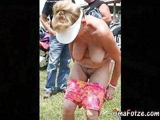 OmaFotzE Granny Pussies Closeup Photos Compilation