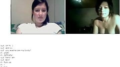 Mature couple on chatroulette