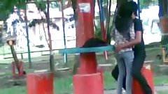 Malay Fucking in Park