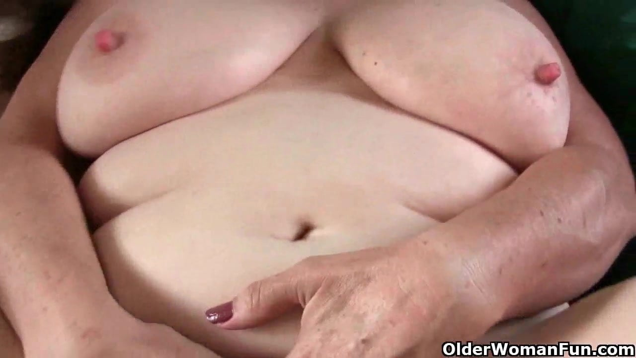 Grandma with Big Tits Wakes up Horny, HD Porn f6: