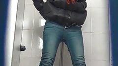 Chinese toilet peeing 13