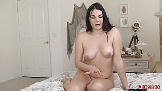 Sexy MILF Madeline Blue AllOver30 Compilation