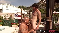 Clark Kent fucks Jake Edwards in his ass