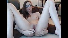 Geeky girl webcam's Thumb