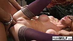 Two busty sluts get their wet pussies fucked by a lucky guy