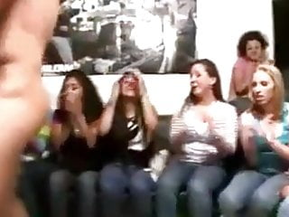 Hot Young Girls Playing With The Strippers Dick