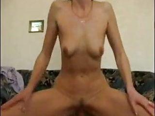 Horny Granny Wanks Sucks And Fucks
