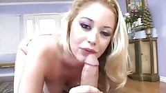 Beautiful Large breasted Blond Sucks Great Rod