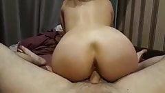 Petq rides the cock