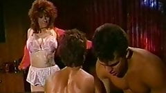 Sharon Mitchell and friend fucked on the pool table