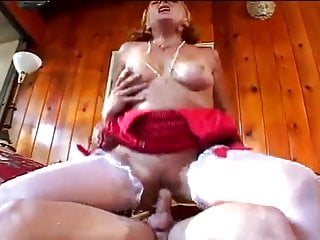 Horny grandmother sucks, fucks her grandson