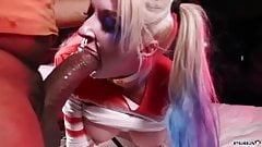Leya Falcon is Harley Quinn