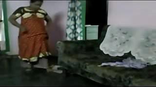 Desi big boobs Hot bhabi Wearing Nighty after bathing
