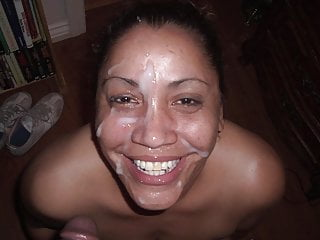 Mature Latina With Huge Tits Sucks Monster Black Cock