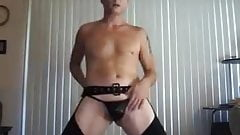 Sexy Logan Stripper Dances and Shakes His Ass