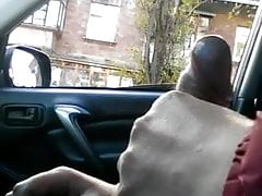 Public dick car flash with cum 19 - She looks